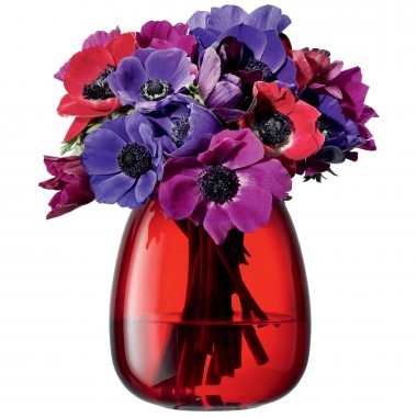 Lọ hoa Flower Colour Table Posy H14cm LSA (đỏ) - Anh