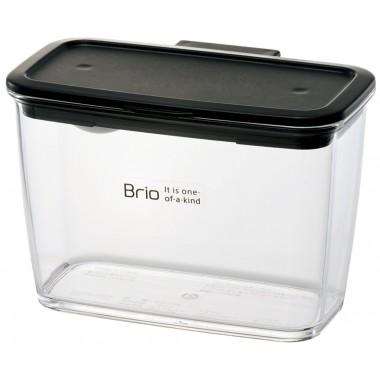 Hộp đựng gia vị Brio 360ml Richell (Đen) - Nhật Bản