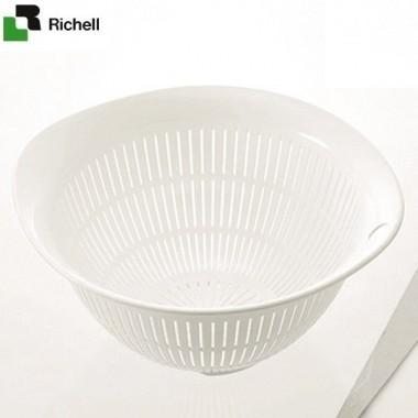 Rổ nhựa kháng khuẩn M Richell (Trắng) - Nhật Bản: