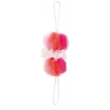 Bông tắm cọ lưng (hồng) Marna - Nhật Bản