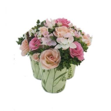 Giỏ hoa hồng Gypso Antwerp Srilanka