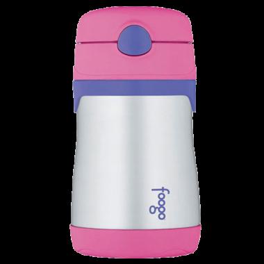Bình nước giữ nhiệt BS-535 (hồng) Thermos - Nhật Bản