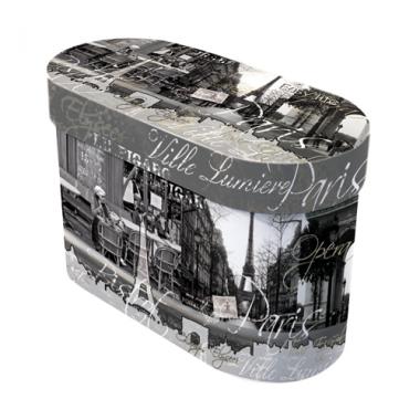Bộ 02 cốc sứ xương họa tiết Paris Nuova - Ý