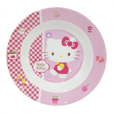 Đĩa sâu 23cm Hello Kitty Superware - Thái Lan