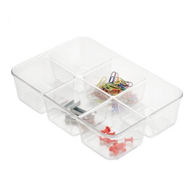 Khay để đồ Pack Multi trong suốt Interdesign - Mỹ