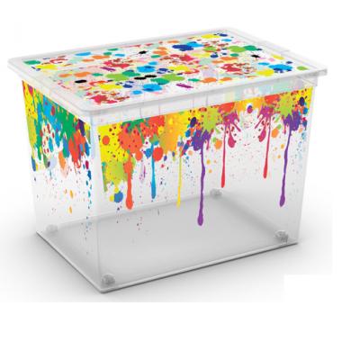 Hộp chứa đồ C-Box Style XL Paint D-rops KIS - Ý