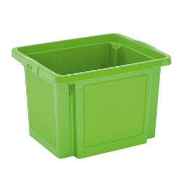 Hộp nhựa chứa đồ H-Box S - xanh lá KIS - Ý