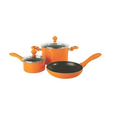 Bộ nồi 5 Sản phẩm 13492-T SILVERSTONE (Oranges)