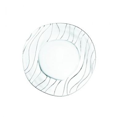 Đĩa pha lê tròn Ocean cỡ trung 28cm Nachtmann - Đức ML-DE331