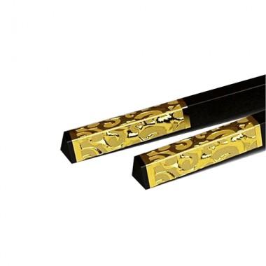 Đũa ăn đầu bọc vàng Beiye 50mm ML-KI434