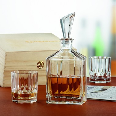 Bộ 2 ly&1 bình đựng rượu pha lê Whisky Nachtmann - Đức ML-HO223