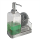 Bình đựng dầu gội, sữa tắm & mút tắm Forma 2 Interdesign - Mỹ