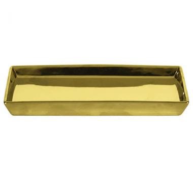 Khay đựng đồ trang điểm màu vàng Glamour Kleine Wolke - Đức