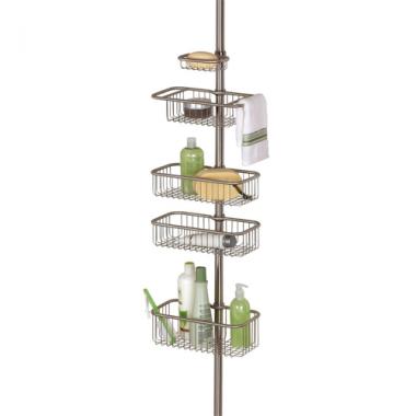 Cây để đồ nhà tắm inox Forma Interdesign - Mỹ