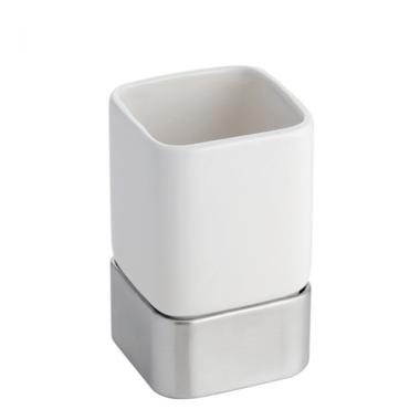 Cốc đánh răng Gia (white) Interdesign - Mỹ