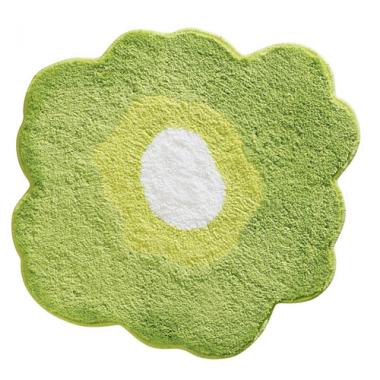 Thảm hình hoa 2 xanh lục Poppy Interdesign - Mỹ