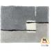 Thảm nhà tắm màu platin 55 x 65 cm London Kleine Wolke - Đức