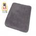 Thảm nhà tắm màu xám đậm 50 x 80 cm Relax Kleine Wolke - Đức