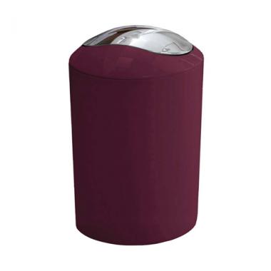 Thùng rác Glossy màu tím đỏ Kleine Wolke - Đức