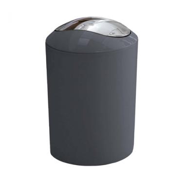Thùng rác Glossy màu xám Kleine Wolke - Đức