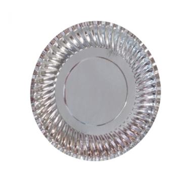 Đĩa giấy bạc đế trắng Artdre Việt Nam 21cm ML-CG005
