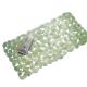 Thảm nhựa nhà tắm hình lá Leavz (xanh lá) Interdesign - Mỹ