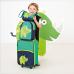 Balo trẻ em Wildlife họa tiết tê giác Laessig - Đức