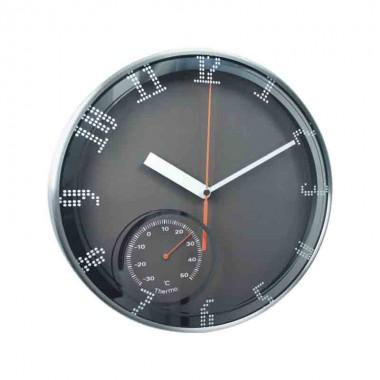 Đồng hồ treo tường nhôm dùng pin A22TH12A4 Dannol Trung Quốc