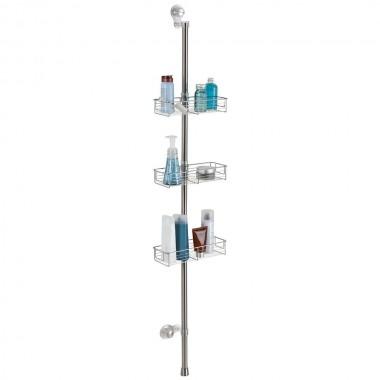 Giá để đồ nhà tắm Forma Suction Station Rec Interdesign - Mỹ