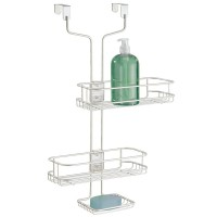 Giá để đồ nhà tắm Linea treo qua cửa Interdesign- Mỹ