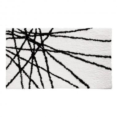 Thảm sọc 53.5x86.5 Interdesign (Đen trắng)- Mỹ
