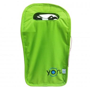 Túi đựng hộp cơm LBMG Yori (xanh rêu,ghi)