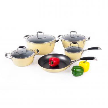 Bộ nồi dùng được cho bếp từ ROMA CHEF AH08-4
