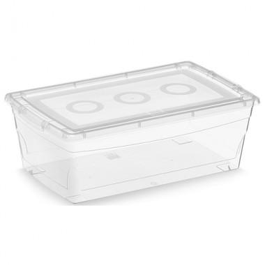 Hộp đựng đồ Omni Box 6L- trong suốt KIS-Ca
