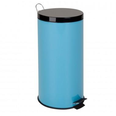 Thùng rác inox 30L (Xanh) tròn Honey Can Do - Mỹ