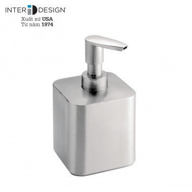 Bình đựng dầu gội, sữa tắm Gia SS (short) Interdesign - Mỹ