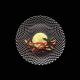 Đĩa pha lê tròn Đk 32 cm 89995 Rumba Nachtmann - Đức
