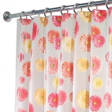 Rèm nhà tắm họa tiết hoa đồng tiền Gerbara Daisy Interdesign - Mỹ