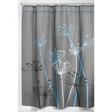 Rèm nhà tắm hình hoa kế 180x200cm Interdesign - Mỹ