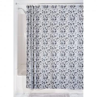 Rèm nhà tắm hình chữ cái 180x200cm Interdesign - Mỹ