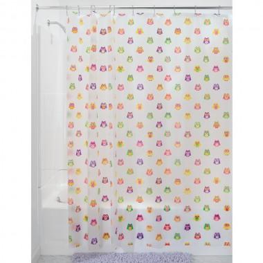 Rèm nhà tắm hình cú loại lớn 180 x 200 cm Interdesign - Mỹ