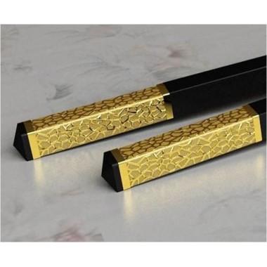 Đũa ăn đầu bọc vàng 35mm HJK065 Beiye
