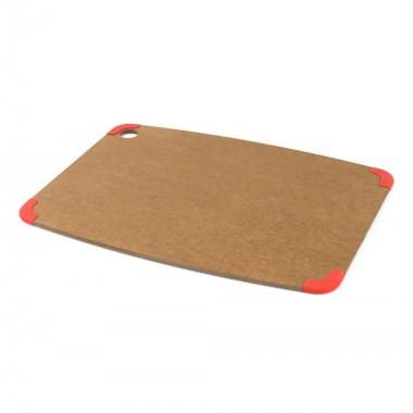 Thớt NS 46x33cm (hạt dẻ & viền đỏ) Epicurean-Mỹ ML-KI572