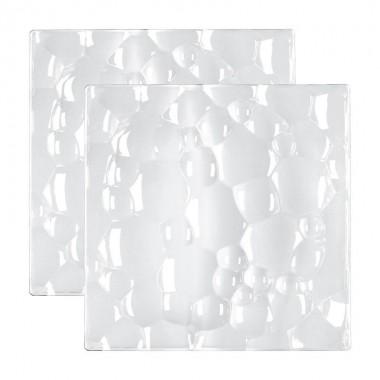 Bộ 2 đĩa vuông 21x21 cm 95640 Sphere Nachtmann - Đức