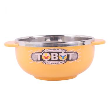 Bát ăn trẻ em cỡ nhỏ Tobot - Hàn Quốc