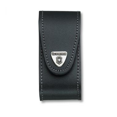 Bao da đeo hông DLG (83->91cm) 4c/năng -chốt xoay màu đen Victorinox - Thụy Sĩ