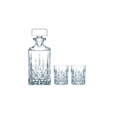 Bộ (1 bình rượu và 2 ly) Whisky Noblesse 91899 Nachtmann - Đức