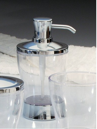 Bình đựng dầu gội, sữa tắm Zia Interdesign