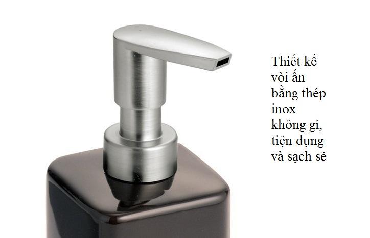 Bình đựng dầu gội, sữa tắm Gia Cocoa Interdesign (tall)