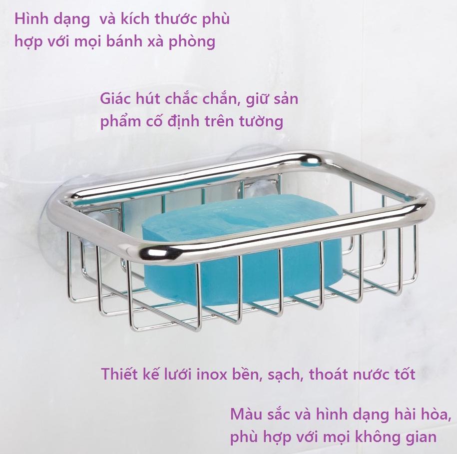 Khay để xà phòng mút dính Forma Ultra Interdesign
